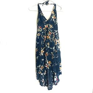 Urban Outfitters Kimchi Blue Floral Halter Dress